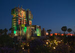 Mission Breakout at Night