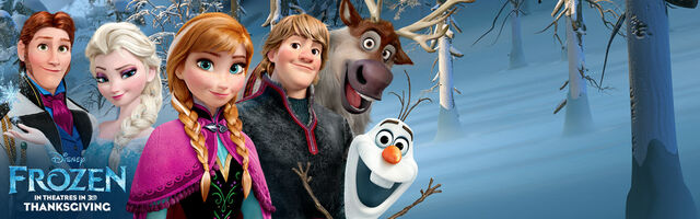 File:Frozen In Theaters in 3D Thanksgiving Banner.jpg