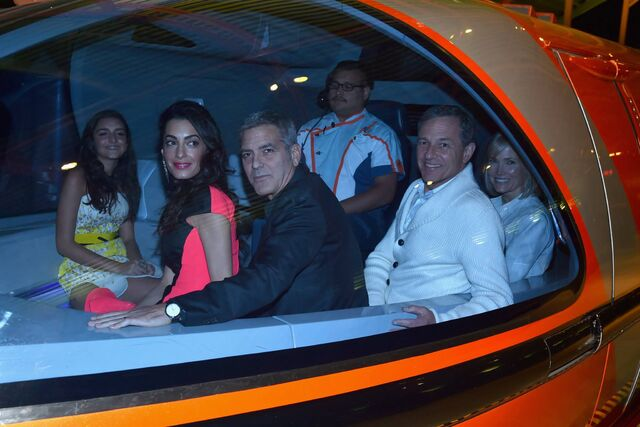 File:George Clooney, Bob Iger and Willow Bay on the Monorail.jpg