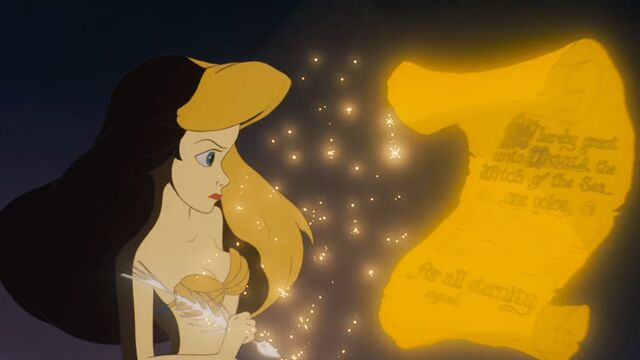 File:The Little Mermaid - Poor Unfortunate Souls - Ariel Striking the Fish Pen.jpg
