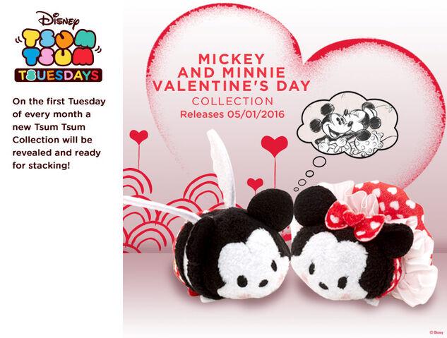 File:Mickey and Minnie Valentine's Tsum Tsum Tuesday.jpg