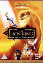 The Lion King SE 2003 UK DVD