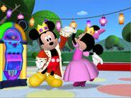 MinniesMasquerade - Prince Mickey and Princess Minnie
