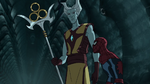 The Grandmaster & Spider-Man USWW