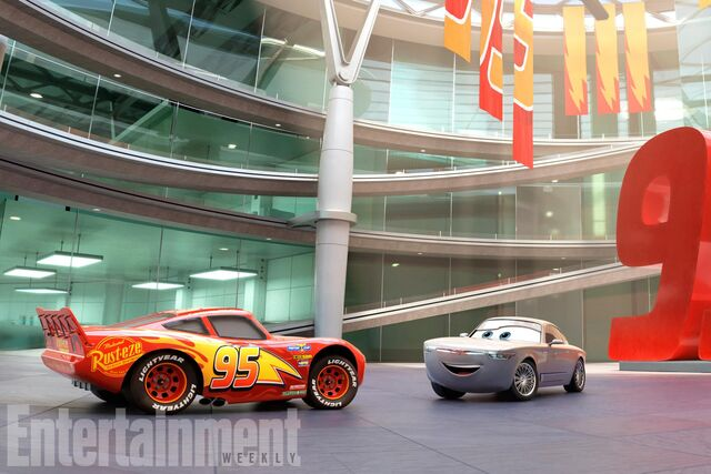 File:Cars 3 Lightning McQueen with Sterling.jpg