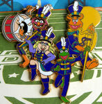 Disney pin marching band