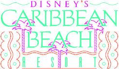 Disney Caribbean Beach Resort Logo