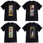 Disney Haunted Mansion villains T-shirts