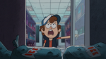 Dipper looked up