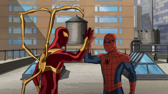 File:Iron Spider and Spider-Man 2.png