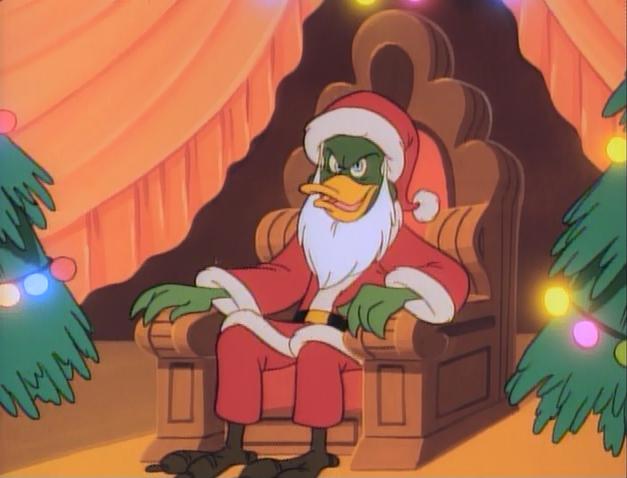 File:Darkwing Duck It's a Wonderful Leaf Bushroot as Santa Claus.JPG
