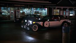 Cruella's car in Enter the Dragon 1