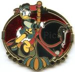 HKDL - Disney Carousel - Mystery Tin Collection - 10 Pin Set - Daisy Duck Only