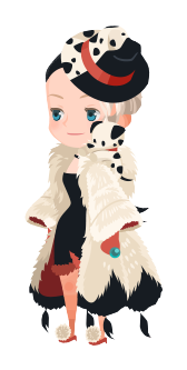 File:Cruella De Vil Costume Kingdom Hearts χ.png