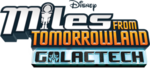 Miles from Tomorrowland Galactech logo