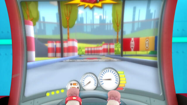 File:Racing game from the arcade.jpg