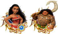 Unchained X Moana Medals