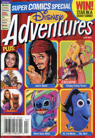 File:Disney Adventures Magazine cover April 2004 Super Comics Special.jpg