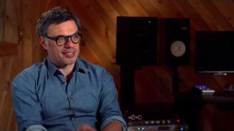"Moana ""Tamatoa"" On Set Interview - Jemaine Clement"