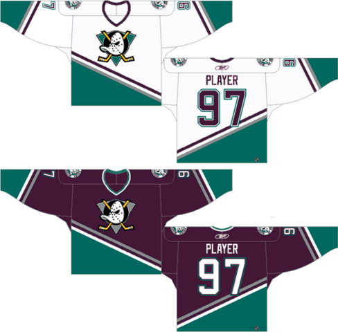 File:Mighty Ducks 1993 original jerseys.png