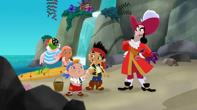 File:Jake & crew with Hook&Smee-Hook Seals a Deal!.jpg