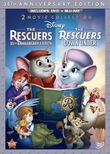 The Rescuers DVD and Blu-ray