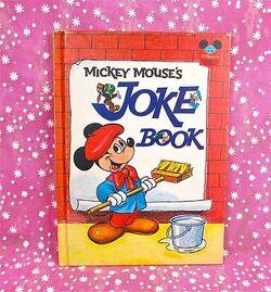 Mickey mouses joke book