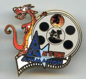 File:DLP - Walt Disney Studios Pin Event - Art of Disney Animation - Mushu.jpeg