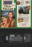 Walt Disney Studio Film Collection - Old Yeller - Front, Rear and Tape