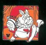 White Rabbit Pin