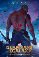 Drax Gotg Poster