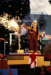 Pluto wdw christmas 1980s