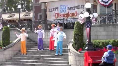 Disneyland 59th Birthday