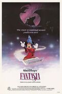 Fantasia 1985 Reissue poster