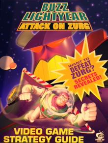 Buzz Lightyear Attack on zurg book