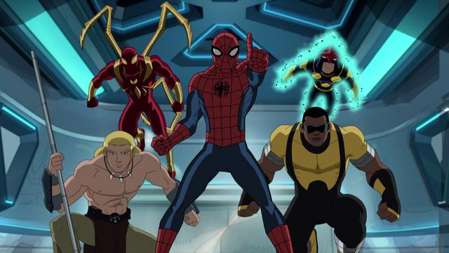 File:Spider-Man Power Man Ka-Zar Nova USMWW.png
