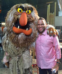 Anthony Anderson with Sweetums