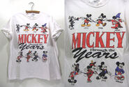 Mickey thru years shirt