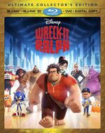 WreckItRalph UltimateCollectorsEdition BluRay