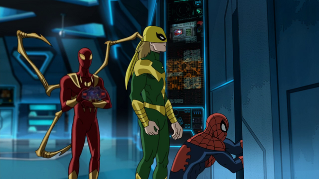 File:Spider-Man Ultimate Iron Fist Iron Spider USMWW.png