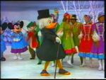 Scrooge, characters and performers at christmas