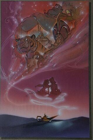 File:Disney's Aladdin - Unused Concept Poster Art by John Alvin - 5.jpg