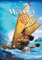 Moana DVD Cover