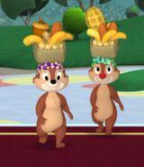 MinniesMasquerade - Chip 'n Dale Brazilian Dancers