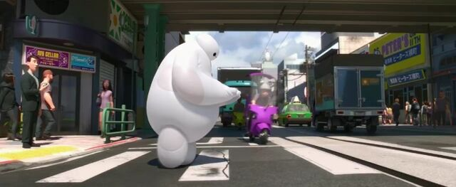 File:Baymax walking across the street .jpg