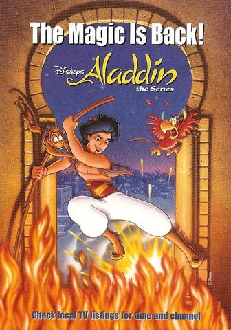 File:Disney's Aladdin TV Series - Print Ad from Disney Adventures 1994.jpg