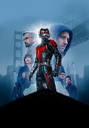 Ant-Man Textless Poster