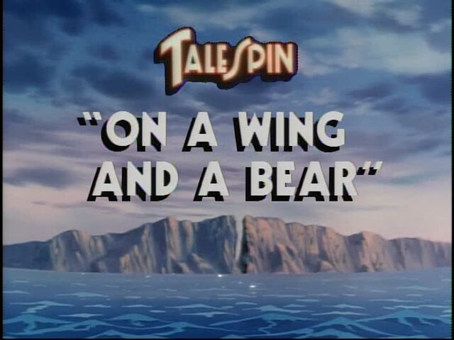 File:On a Wing and a Bear title card.jpg