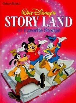 Walt Disney's Story Land 1991 Cover