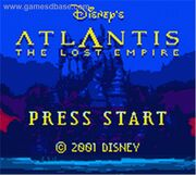Atlantis- The Lost Empire - 2001 - THQ, Inc